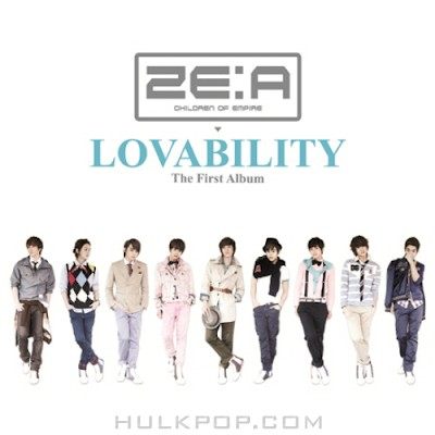 ZE:A – Lovability – The First Album (ITUNES PLUS AAC M4A)