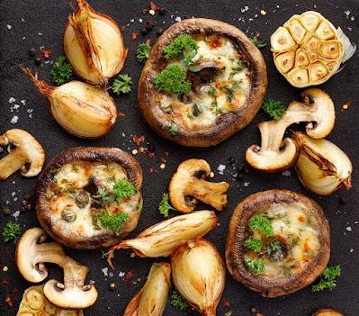 Mushroom snacks
