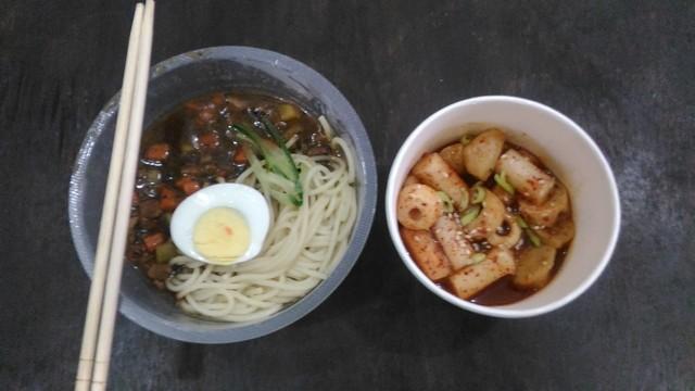 Sajian menu Korea ala Kokape;KOKAPE – Korean Cafe Di Probolinggo
