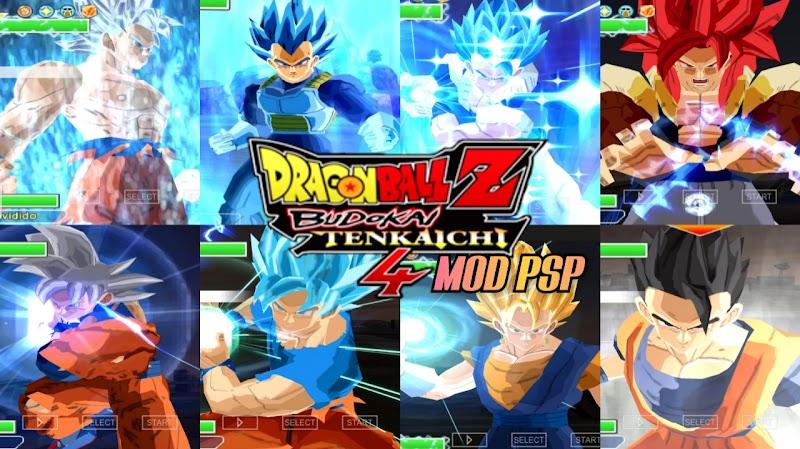 Android PSP Game DBZ TTT BT4 MOD With New Goku Ultra Instinct