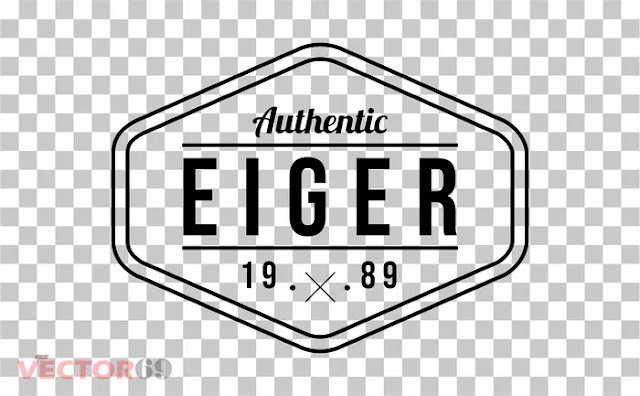 Eiger 1989 Logo - Download Vector File PNG (Portable Network Graphics)