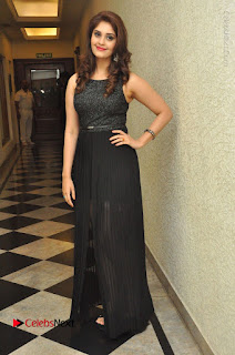 Actress Surabhi Stills in Black Long Dress at turodu Audio Launch  0113.JPG