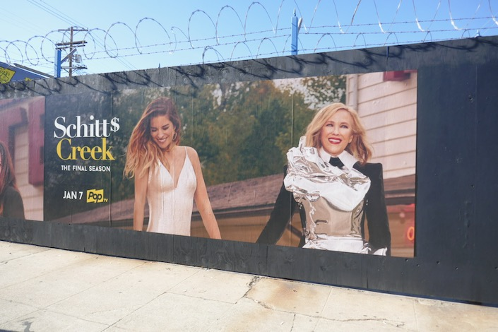 Schitts Creek final season 6 street poster