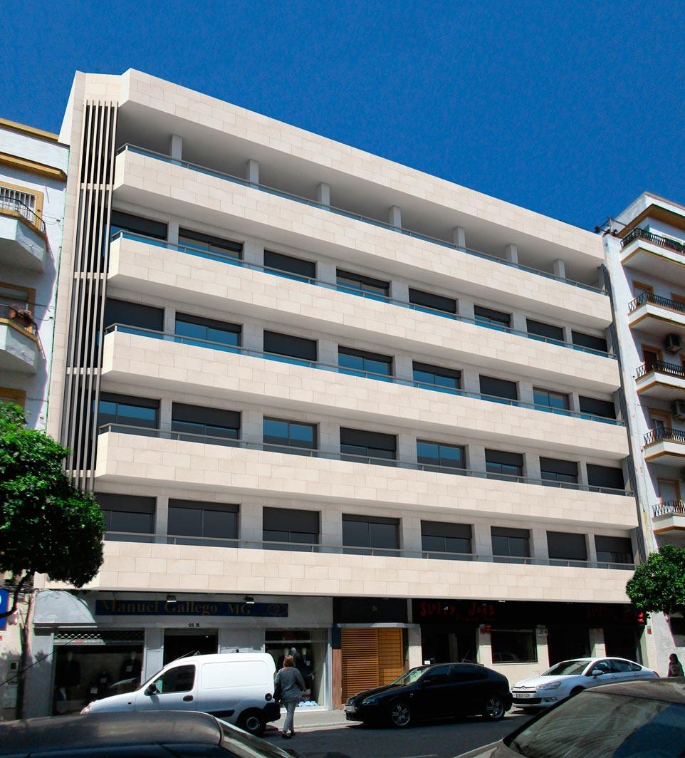 Estudio Honorio Aguilar - Edificio C/ Asunción 62