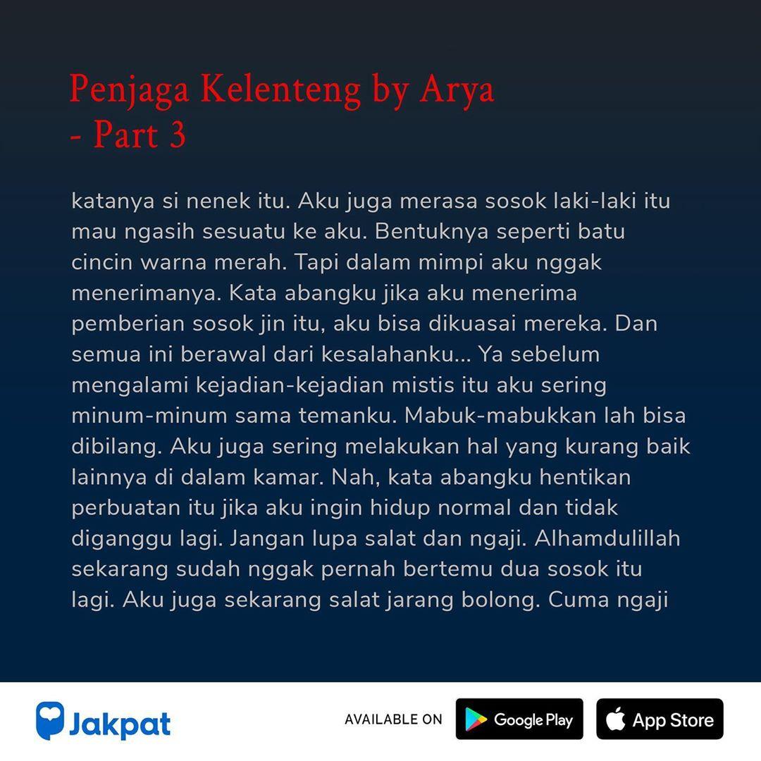 Kisah Misteri Penjaga Kelenteng by Arya Part 3