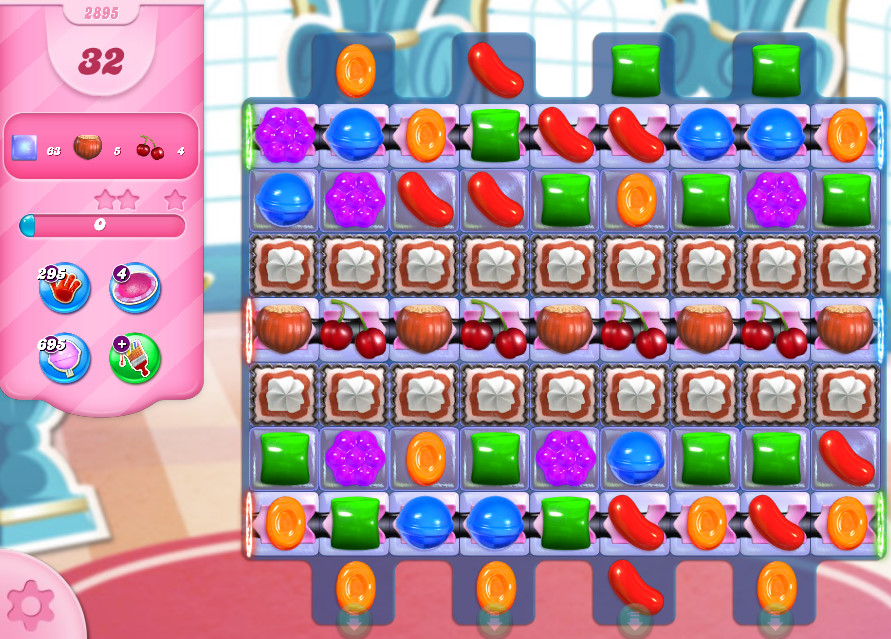 Candy Crush Saga level 2895