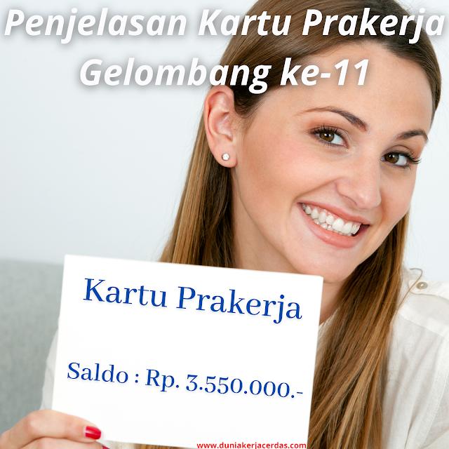 Penjelasan Terkait Kartu Prakerja Gelombang 11, Yakinkan Cuma Akses Situs Formal www.prakerja.go.id
