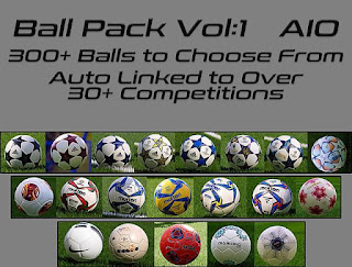 Ball Server Pack V2 AIO by Hawke PES 2021