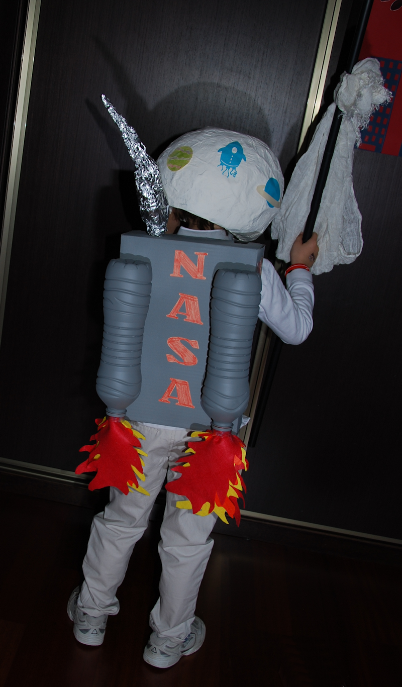 Disfraz de astronauta niño handmade