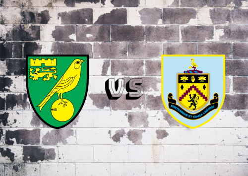 Norwich City vs Burnley  Resumen