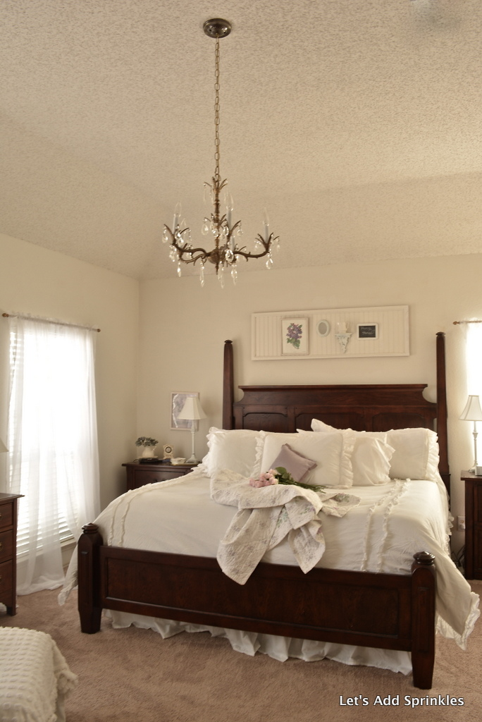 let 39 s add sprinkles master bedroom chandelier