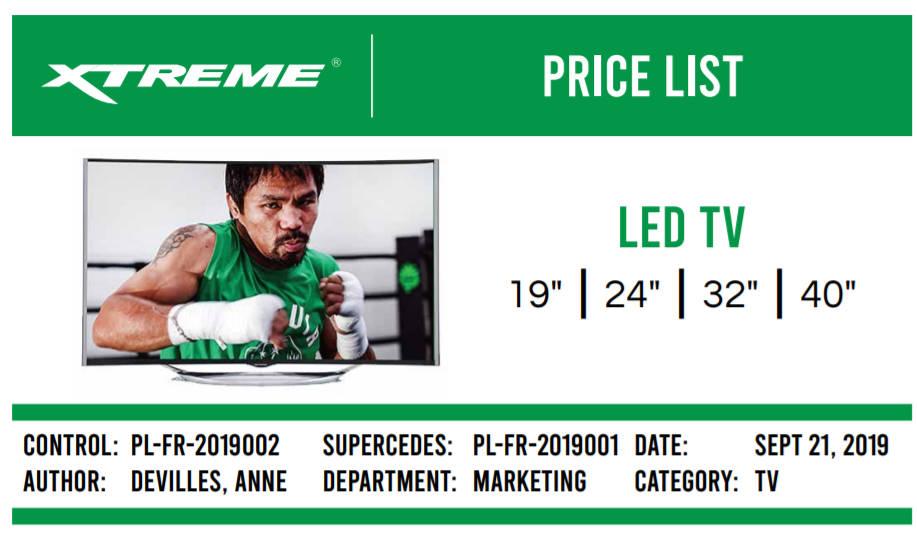 Xtreme LED TV