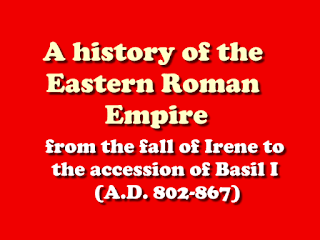 A history of the Eastern Roman