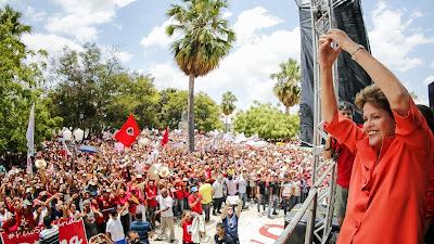 Dilma Rousseff reeleita - Um Asno