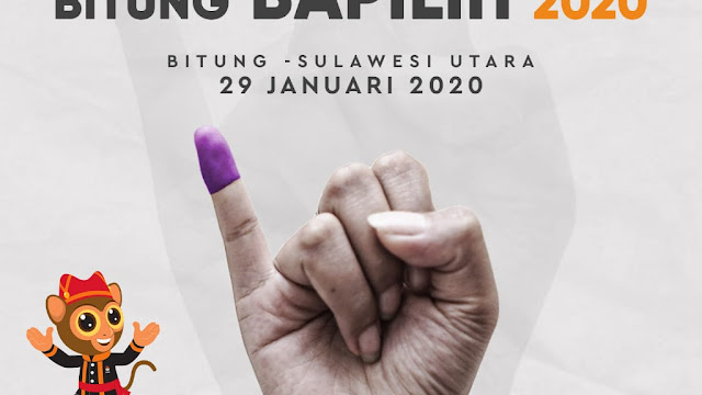Sambut Pilwalkot, Saksikan Launching Semarak Bitung Bapilih 2020