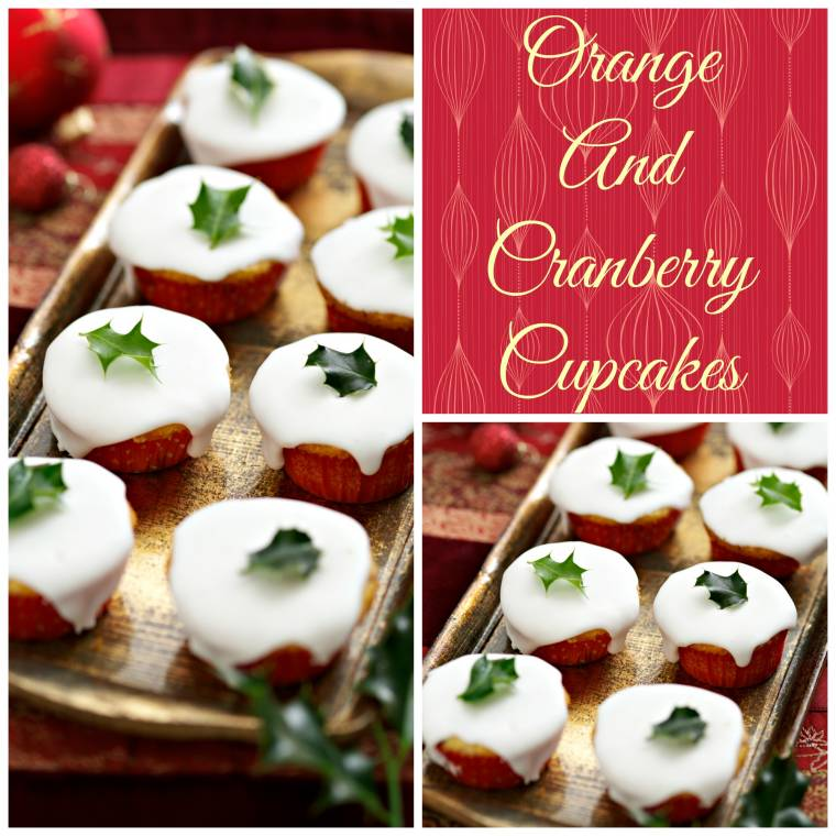 Orange And Cranberry Cupcakes Taste Of Christmas