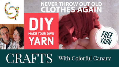 Make your own yarn