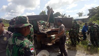 Kodim 1312/Talaud Peduli Kebersihan Lingkungan