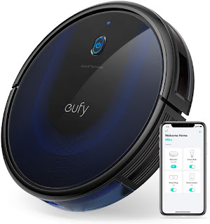 eufy BoostIQ RoboVac 15C MAX, Wi-Fi Connected, Super-Thin, 2000Pa Suction, Quiet, Self-Charging Robotic Vacuum Cleaner, Cleans Hard Floors to Medium-Pile Carpets
