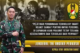 Pelatihan Technology Smart Helmet Kepada Tim Operasional Akmil Seskoad Mabesad  Secapadan RSPAD Gatot Soebroto I TNI AD 60