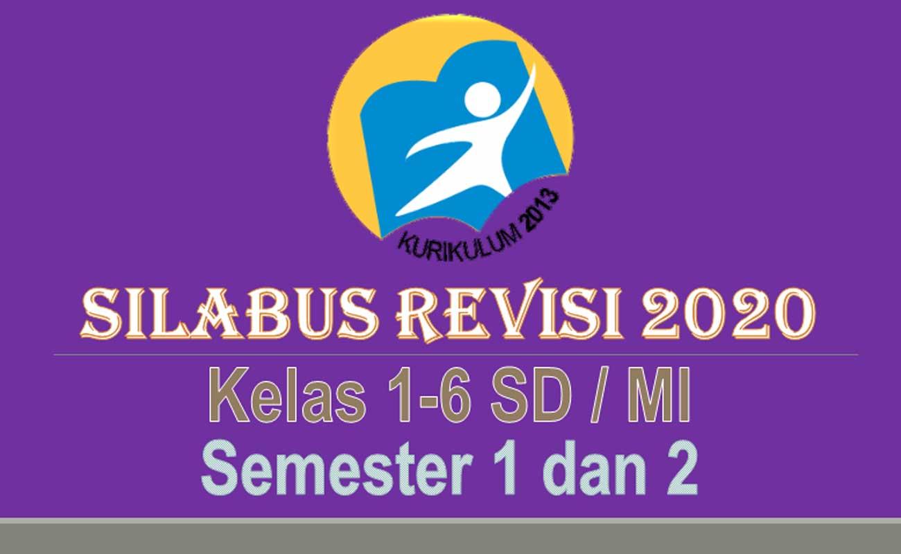 Silabus SD MI Kelas 1 2 3 4 5 6 Semua Tema Semester 1 dan 2