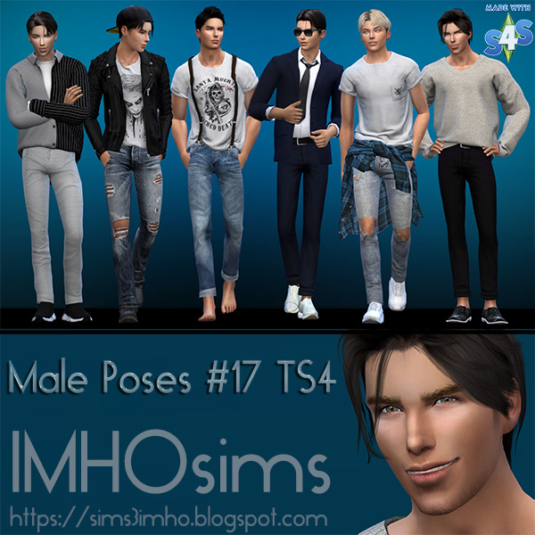 IMHO Male Poses #17 TS4 Tom Cruise