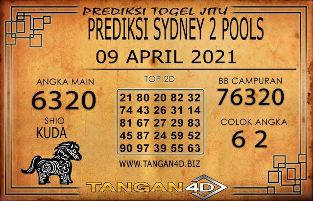 PREDIKSI TOGEL SYDNEY2 TANGAN4D 09 APRIL 2021