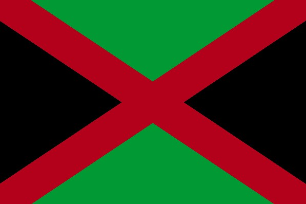 dd284c3bdaf The African-Alabama Heritage Pride flag follows in the style of the African  American flag. The African American flag was originally designed by David  ...