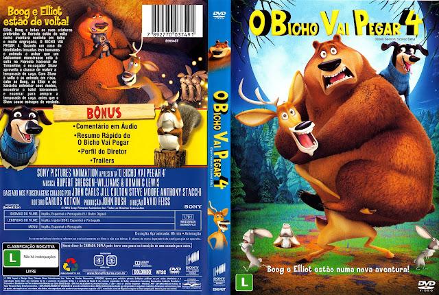 Capa DVD O Bicho Vai Pegar 4