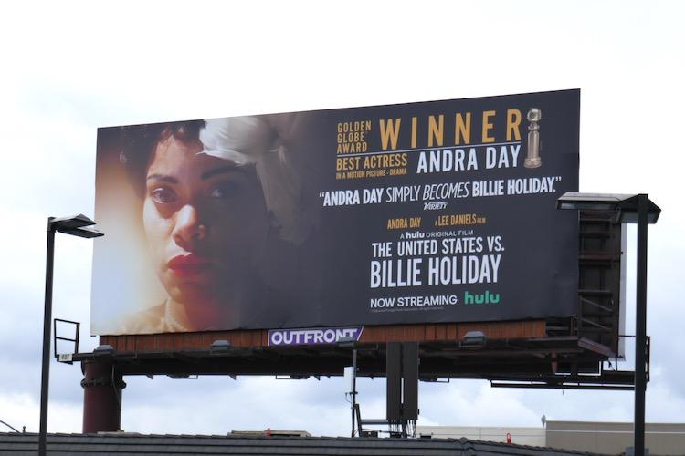 United States vs Billie Holiday Winner billboard