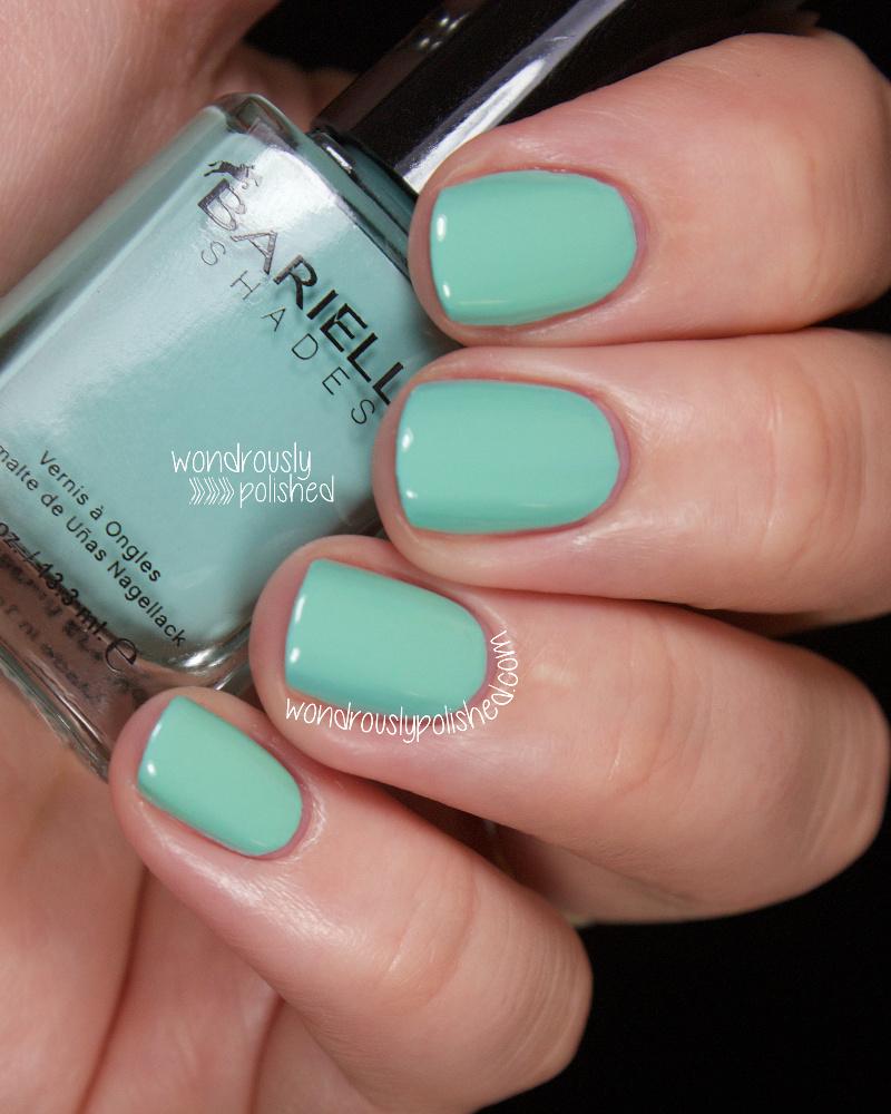 Wondrously Polished April Nail Art Challenge: Wondrously Polished: Barielle Spring Vibrants