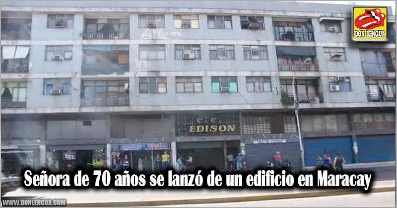 Señora de 70 años se lanzó de un edificio en Maracay