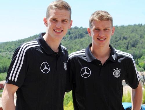 Cặp anh em nhà Bender cũng rất nổi tiếng ở Bundesliga