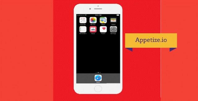 برنامج وموقع لمحاكاة IOS وتجربة تطبيقات الأيفون والأيباد على حاسوبك Appetize.io_