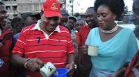Kazi ni ufisi tu! Kiambu Governor FERDINARD WAITITU salivates on a S£XY MCA's sweet derriere (PHOTO).
