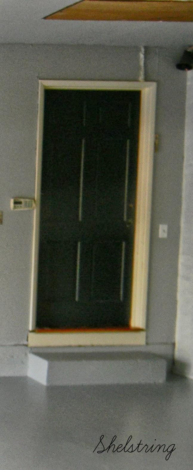 Shelstring Blog 31 Day Challenge Garage Door Completion