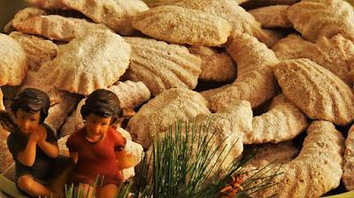 Šape s orasima / Delicious walnut cookies