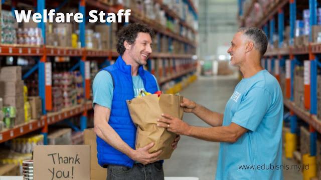 tugas welfare staff