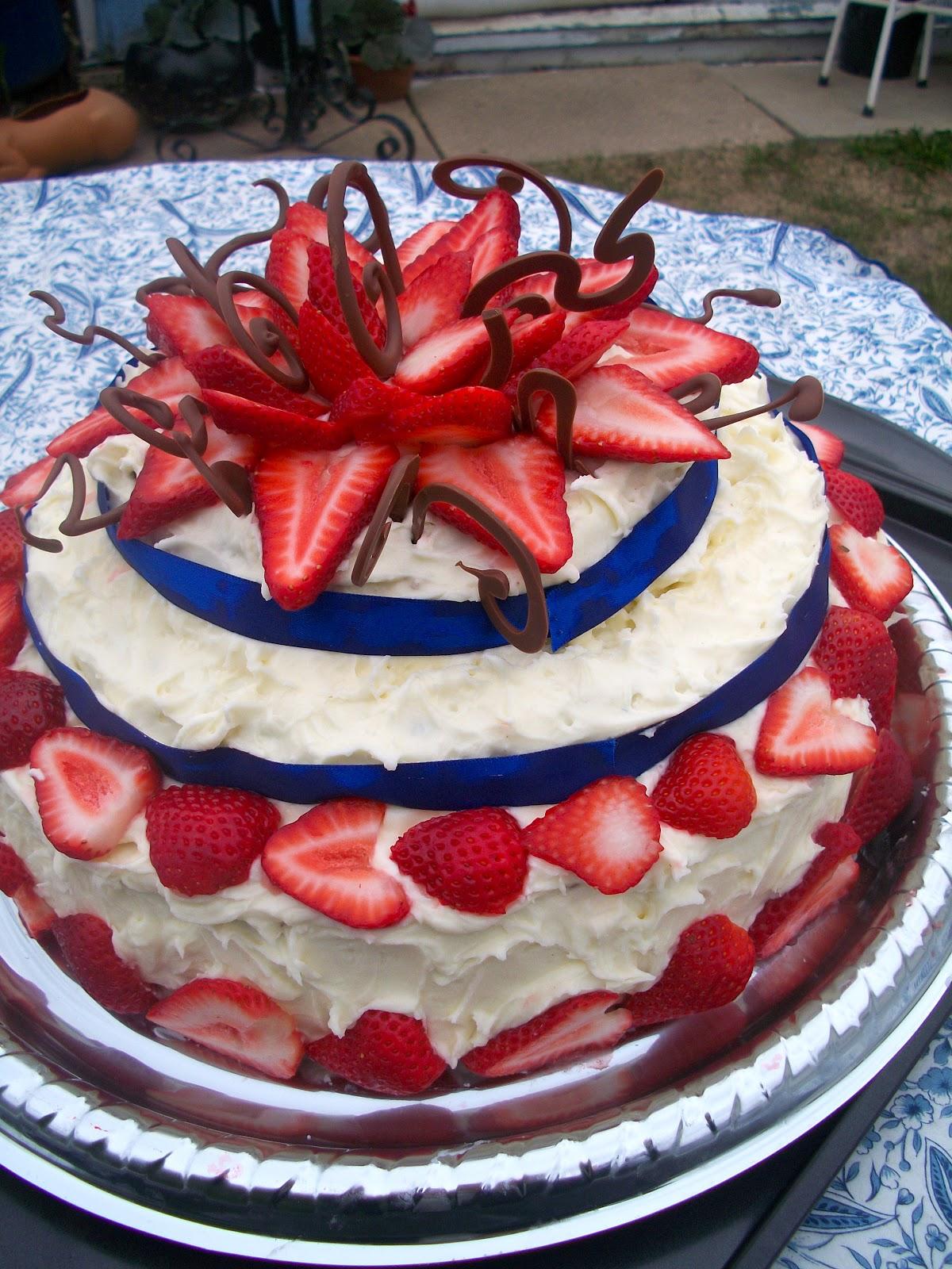 Brooke Bakes Mom S 50th Birthday Cake