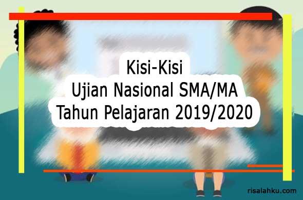 Kisi-Kisi UN SMA 2020