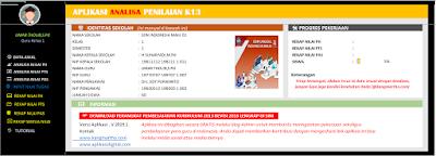 Aplikasi Analisis K13 SD Terbaru