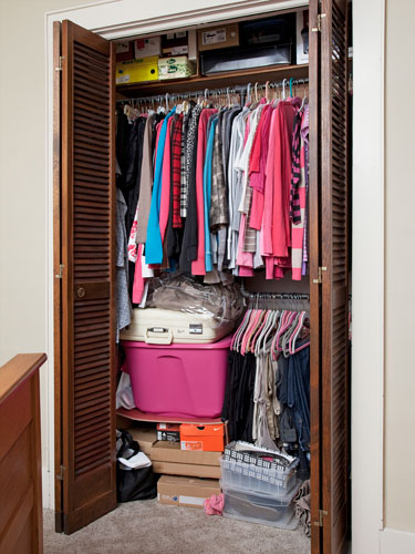 Home My Furniture: Small Bedroom Closet Organization Ideas
