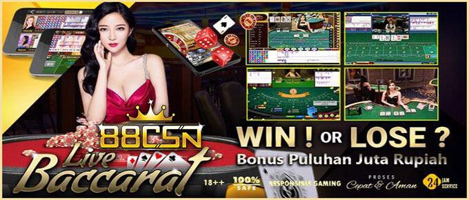 88CSN Situs Agen Casino Online Uang Asli Resmi