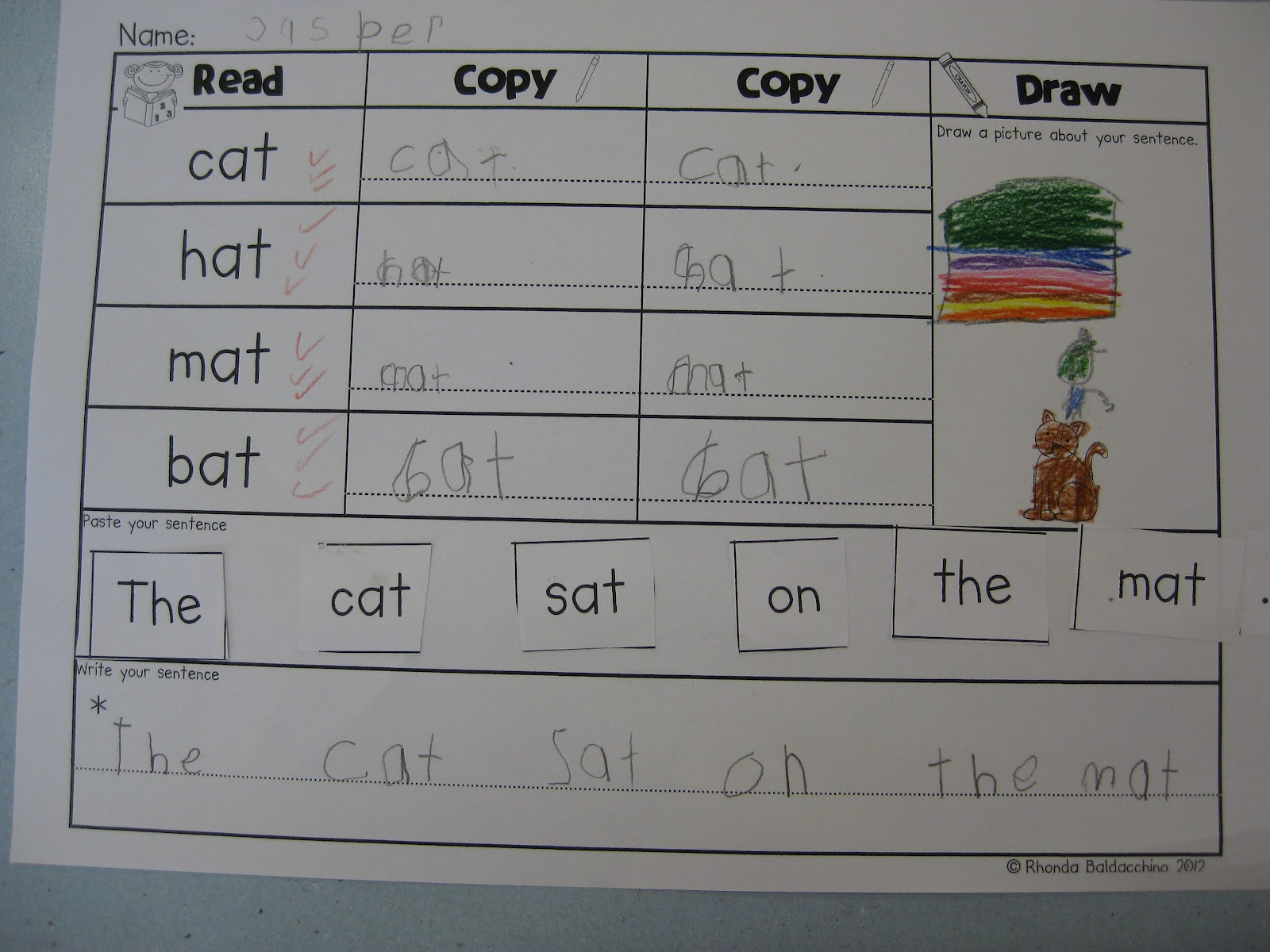 Making Sentences With Cvc Words Images