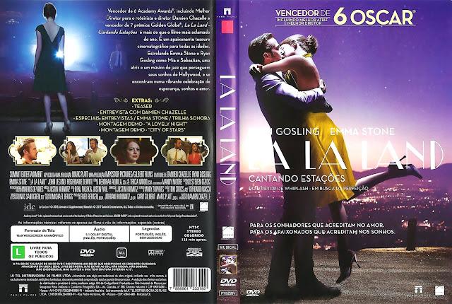 Capa DVD LA LA LAND CANTANDO ESTAÇÕES