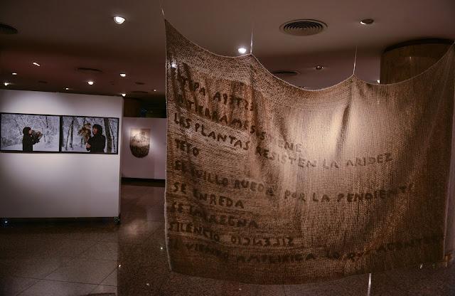 arte textil - patagonia - Laura Mozzi - poesía visual - arte contemporáneo
