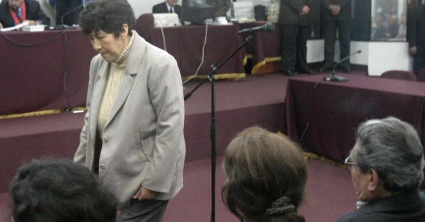 Piden al Colegio de Abogados de Lima expulsión e inhabilitación de Martha Huatay