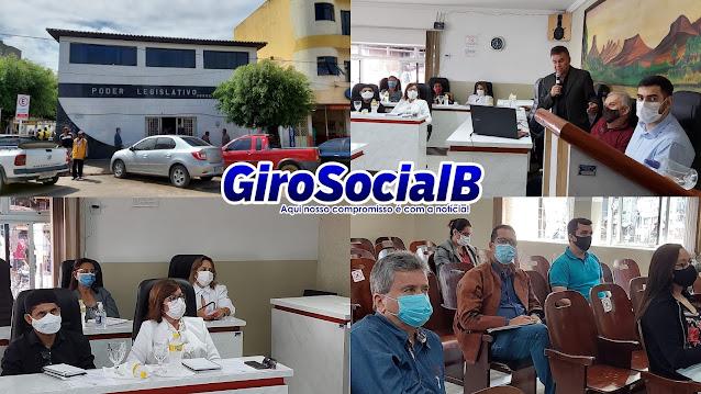 Poderes executivo, legislativo  e sociedade civil participam de Audiência Pública para a elaboração da L.D.O 2022 do município de Buíque