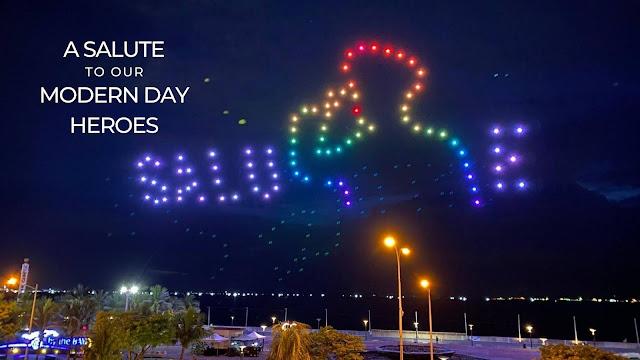 drone show tribute