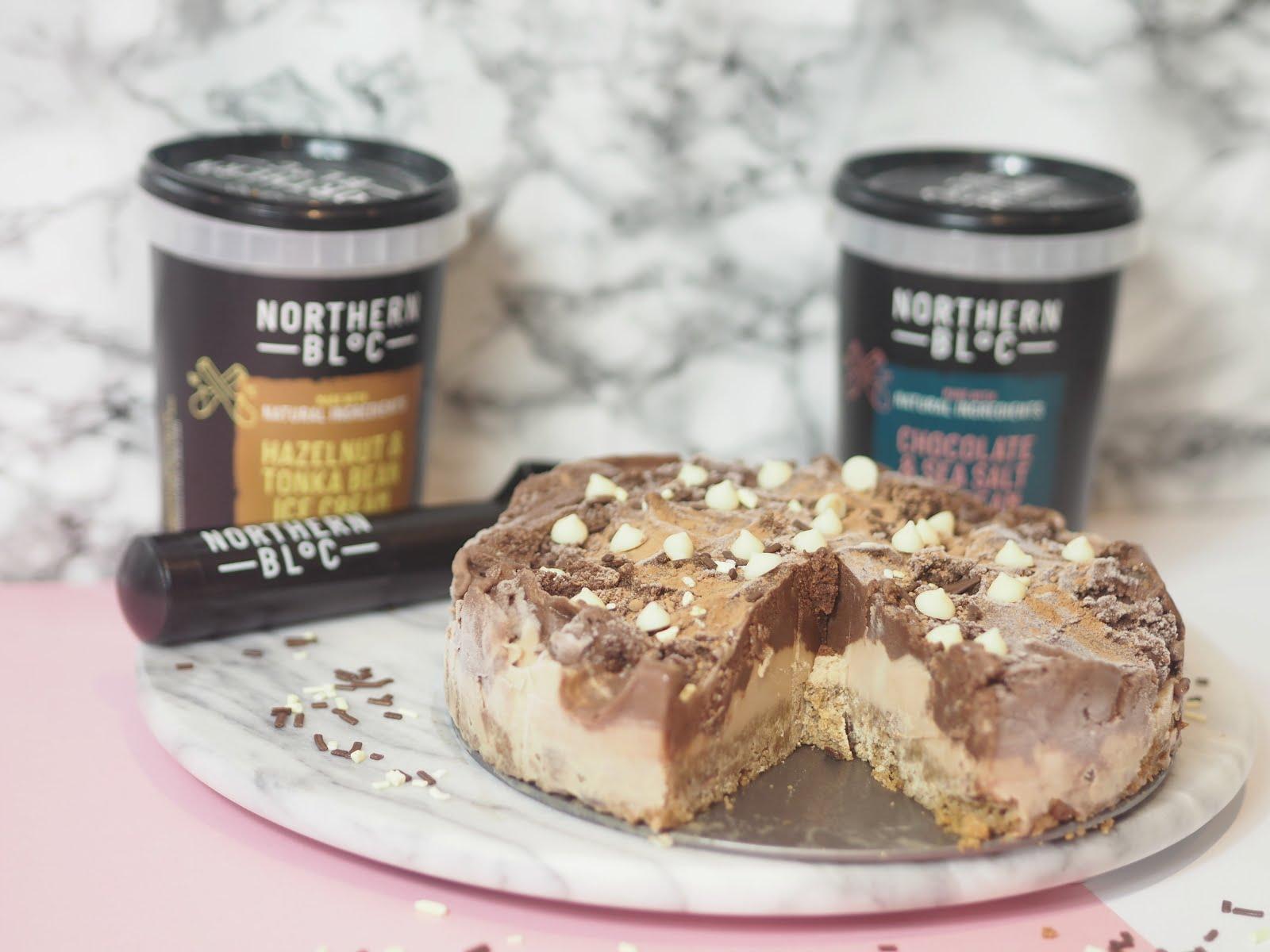 The Ice Cream Cake with Northern Bloc